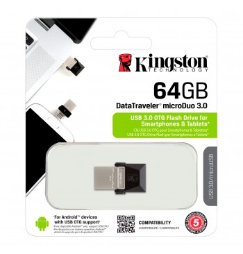Pendrive for Smartphone 64GB (3.0) Micro KINGSTON