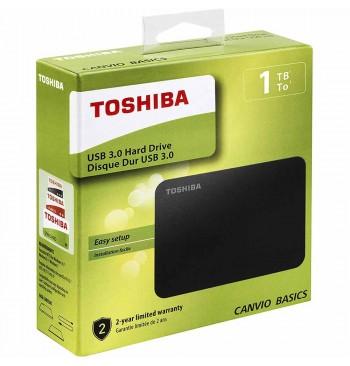 Harddisk USB 1TB (3.0) TOSHIBA