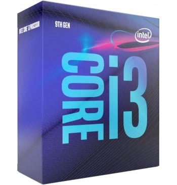 CPU INTEL CORE i3-9100 (9° Gen.)