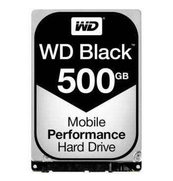 """Harddisk 500GB (2,5"""") WD BLACK"""