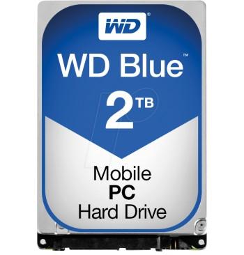 """Harddisk 2TB (2,5"""") WD BLUE"""