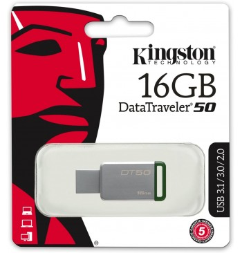 Pendrive 16GB - DT50 KINGSTON