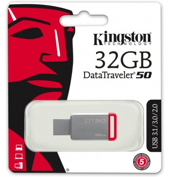 Pendrive 32GB (3.1) DT50 KINGSTON