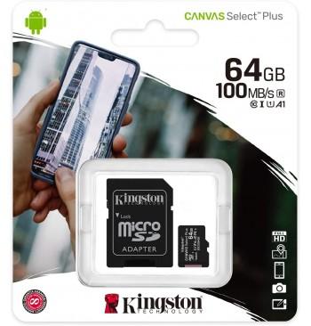 MICRO-SD 64GB KINGSTON